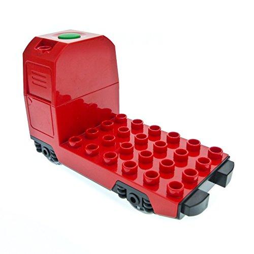 1 x Lego Duplo elektrische Eisenbahn E-Lok rot Güter Passagier Zug Geräusch Lokomotive geprüft Set 10508 10507 6037474 5135c01
