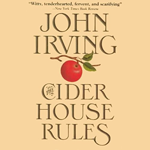 The Cider House Rules audiobook cover art