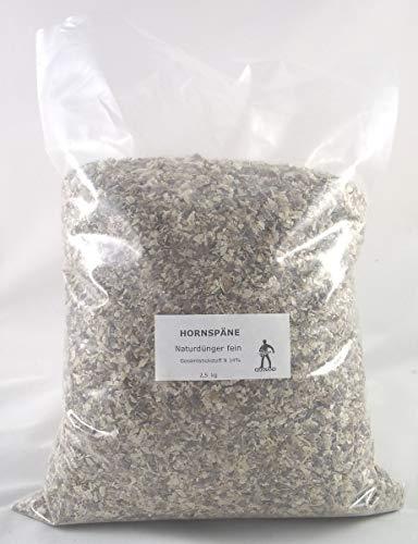 Hornspäne Horndünger fein Naturdünger Stickstoffdünger 5 kg