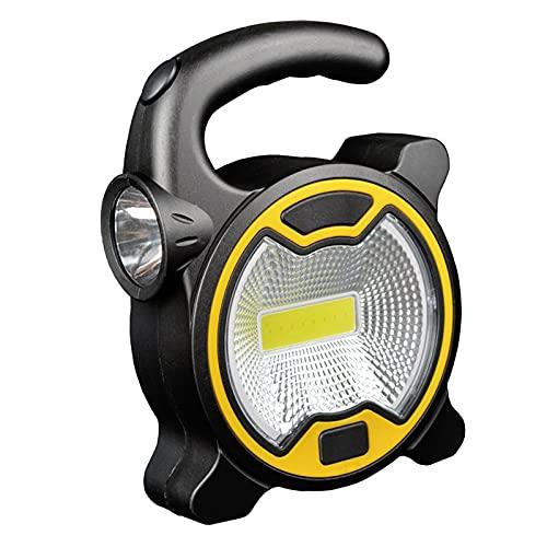 Foco portátil Lantern Emergencia Foco Recargable Floodlight para el Trabajo de Camping al Aire Libre Luz de luz Mini Linterna