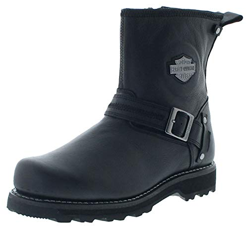 FB Fashion Boots Herren Biker Boots D93511 Richton Motorradstiefel Engineerstiefel Schwarz 46 EU inkl. Schuhdeo