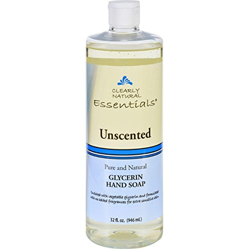 Clearly Natural Liquid Glycerine Hand Soap Refill Unscented Unscented 32 Oz (Pack of 2)