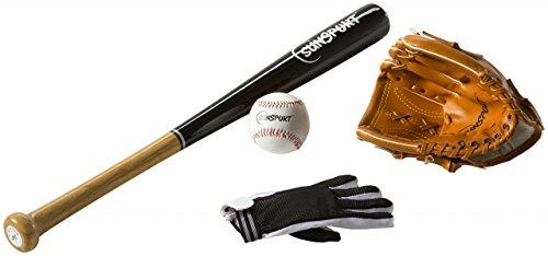 Sunsport Baseball Set 4-teilig Junior Equipment für Kinder