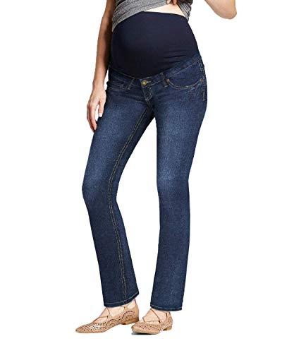Super Comfy Stretch Women's Maternity Bootcut Jeans PM2835JPX Dark WASH1 2X