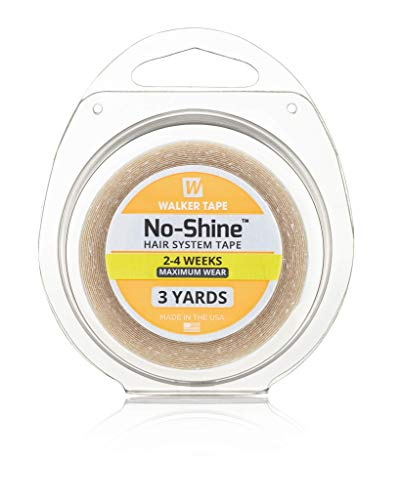 Walker Tape No Shine 1/2 x 3 Yards Hair Replacement System Wig Adhesive by Walker