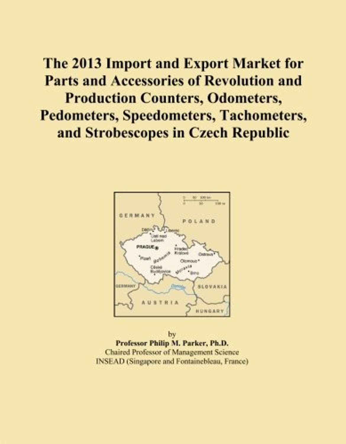 The 2013 Import and Export Market for Parts and Accessories of Revolution and Production Counters, Odometers, Pedometers, Speedometers, Tachometers, and Strobescopes in Czech Republic