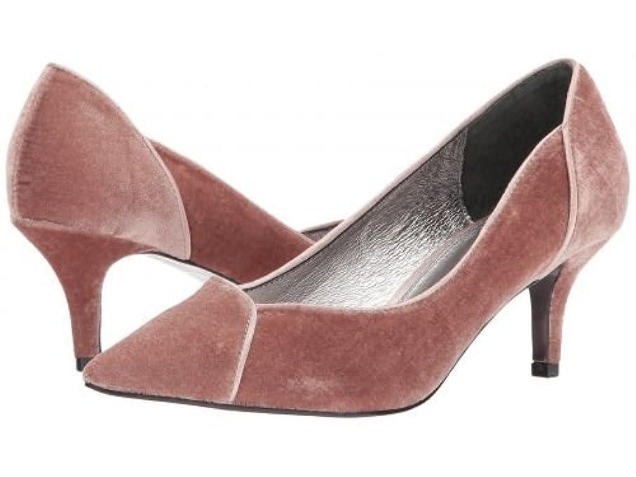 悩む足非常にAdrianna Papell(アドリアナパペル) レディース 女性用 シューズ 靴 ヒール アンクル Havana - Blush Velvet 6 M [並行輸入品]