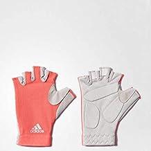 Adidas Half Finger Gloves for Unisex, Multi Color - M