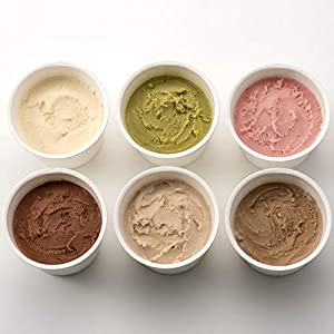 K and Son's 植物性100%オーガニック豆乳アイスクリーム 80ml 6カップセット (定番アソート)