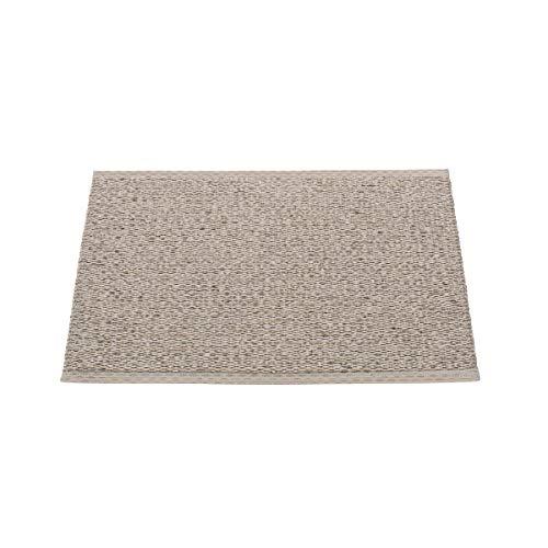 Unbekannt In- & Outdoor Teppich Svea mud metallic 70 x 50 cm Terrassenteppich, Balkonteppich, Matte, Kunststoffteppich