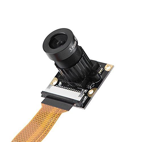 5MP cameramodule voor Raspberry Pi Zero, camera webcammodule met IR nachtzicht invullicht, ondersteunt 1080P @ 30 fps