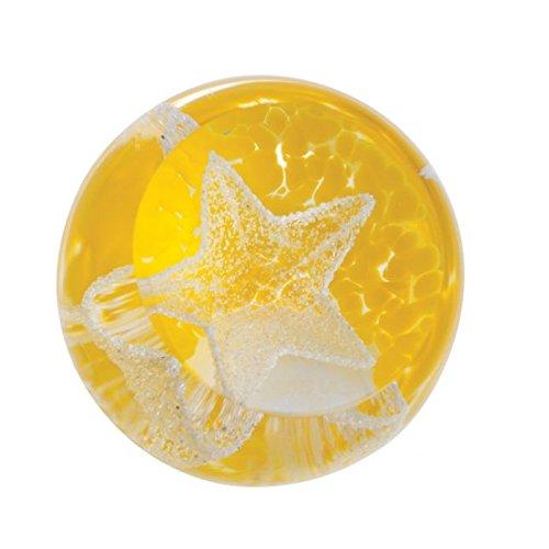 Caithness Glass Presse-papier jaune U18112 Special Moments Little Stars