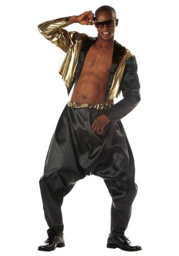 Old School Rapper Costume Large/X-Large