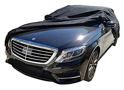 XtremeCoverPro 100% Breathable Car Cover for Select Mercedes S Class Sedan 300SE 300SEL 300SD 350SD 350SDL 420SEL 560SEL S320 S420 S500 S550 S600 S63 S65 1990 1991 1992 1993 1994 1995 1996 1997 1998 1999 2000 2001 2002 2003 2004 2005 2006 2007 2008 2009 2
