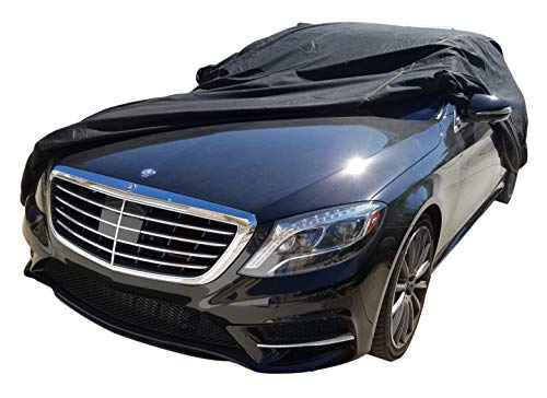 XtremeCoverPro 100% Breathable Car Cover for Select Mercedes S Class Sedan 300SE 300SEL 300SD 350SD 350SDL 420SEL 560SEL S320 S420 S500 S550 S600 S63 S65 1990 1991 1992 1993 1994 1995 1996 1997 1998 1999 2000 2001 2002 2003 2004 2005 2006 2007 2008 2009