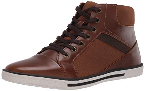 Unlisted by Kenneth Cole Men's Crown Sneaker, Cognac, 10