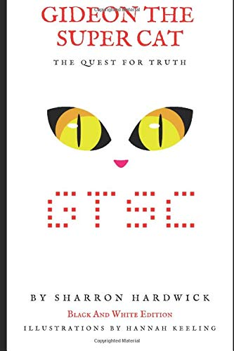 Gideon The Super Cat - The Quest For Truth (Gideon The Super Cat (Black and white illustrated edition))