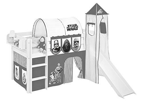 Lilokids Tunnel Star Wars Schwarz - für Hochbett, Spielbett und Etagenbett