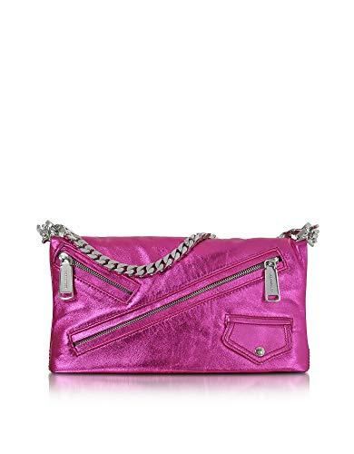 Luxury Fashion | Dsquared2 Dames S17CL5095501M1154 Fuchsia Leer Schoudertassen | Herfst-winter 19