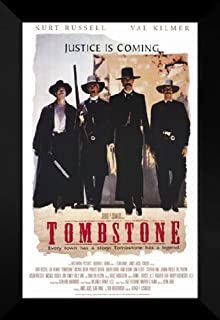 ArtDirect Tombstone 27x40 FRAMED Movie Poster - Style A - 1993