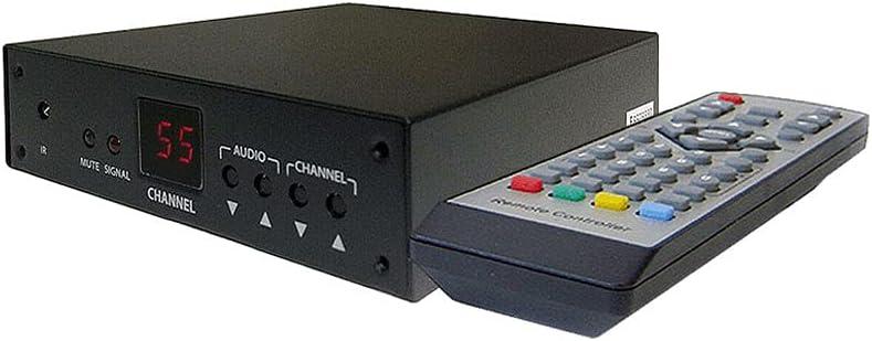 Professional RF Coax to Composite Video Stereo Demodulator TV Tuner (NTSC Version)