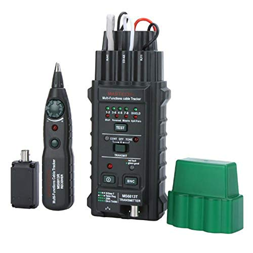 U/D Pimbuster MS6813 Handheld-Netzwerkkabel Telefonleitung Tester Detector Tracker BNC RJ45 RJ11 Cat5 Cat6 LAN-Kabeltester