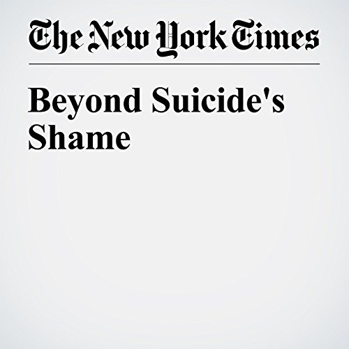 Beyond Suicide's Shame audiobook cover art