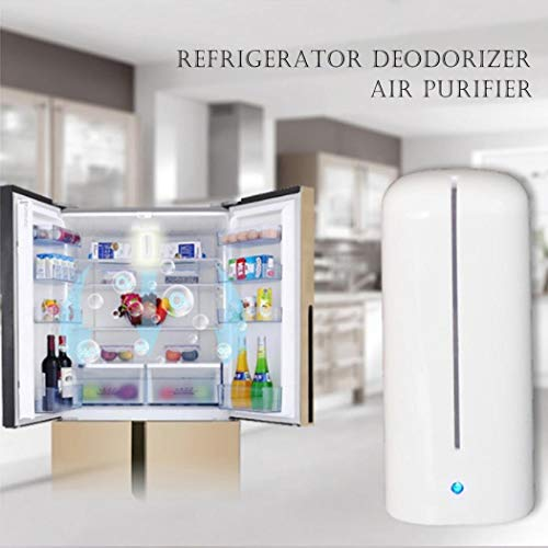 Best Price! Adoeve Mini Portable Multifunctional Negative Ion Desktop Refrigerator Air Purifier Elec...
