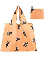 エコバッグ レジ袋 トートバッグ 買い物袋 折りたたみ 防水 使いやすい 大容量 丈夫 耐荷重25kg (Eco Bag L)