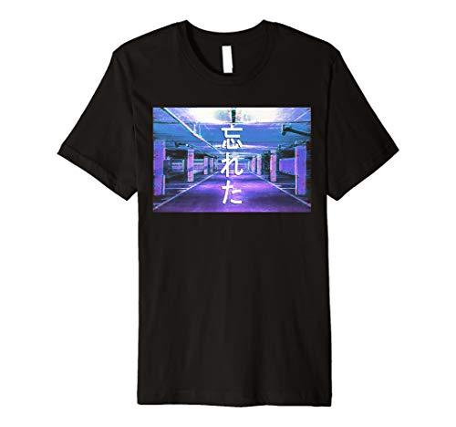 Forgotten Vaporwave Aesthetic Style T-Shirt Emotional