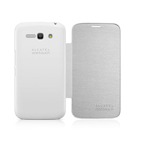 Alcatel Flip Cover für One Touch Pop C9, Weiß