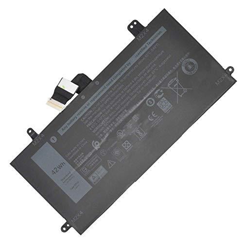 HUBEI J0PGR 0J0PGR JOPGR 1WND8 X16TW 0X16TW 0FTH6F FTH6F Batería de Repuesto para computadora portátil DELL Latitude 12 5285 5290 2-en-1 T17G Tablet Series Notebook (7.6V 42Wh)