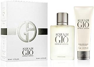 Armani Acqua Di Gio Pour Homme - Eau De Toilette Spray 50 Ml + Aftershave Balm 75 Ml 125 ml