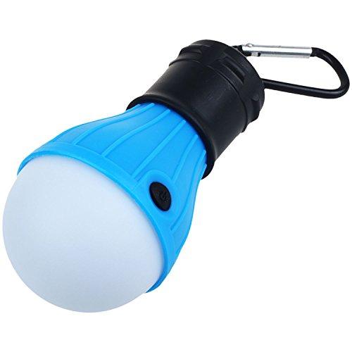 TOOGOO Tragbare LED Laternen Camping Bergsteigen Camping Wandern Angeln Notbeleuchtung Batterie Campingausruestung Getriebe Gadgets Outdoor-und Indoor-Beleuchtung (mit Karabiner)