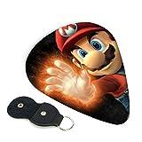 Super Mario Bros - Juego de accesorios para guitarra y púa
