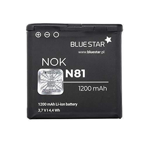 BlueStar Batteria Nokia E51 N97 E71 N81 Li-Ion 1200 mAh analogica BP-6MT