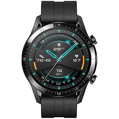 Huawei Watch GT2 Sport - Smartwatch con Caja de 46 Mm (Hasta 2 Semanas de Batería, Pantalla Táctil Amoled de 1.39\
