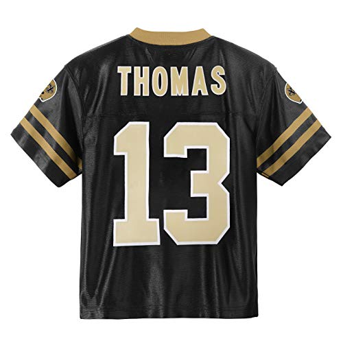 Michael Thomas New Orleans Saints #13 Black Youth Home Player Jersey (Small 8)