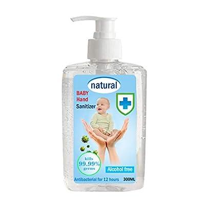 Bottle Large Pump Gel Clean Waterless Long-Lasting Family Bulk 300ml INORZYI
