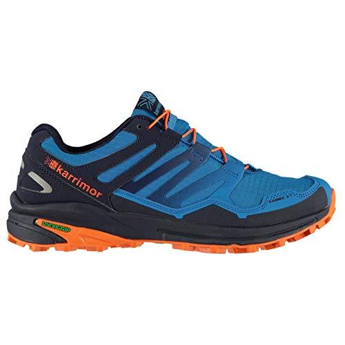 Karrimor Herren Sabre Trail Laufschuhe Outdoorschuhe Blau/Orange 43 1/3 EU