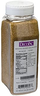 33 Oz Gold Sanding Sugar