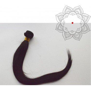 Tissage Indien Raide-Lisse 22 pouces - Cheveux humains 100% naturels - 1 paquet de 100g - Cheveux vierges indiens non traités 1B