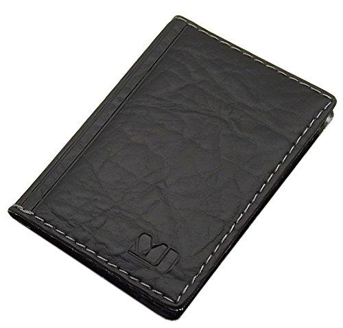 Elegante Tarjetero para Tarjeta de crédito y Tarjeta de Visita diseños (Diseño 5 / Negro)