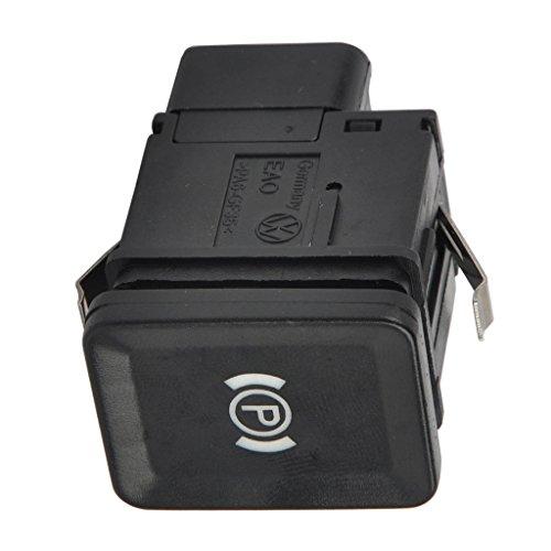 B Baosity 12V Parkbremsschalter Parkbremse Handbremsschalter Taster für VW Passat 3C / R36 / CC