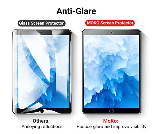 MoKo Entspiegelte Displayschutzfolie Kompatibel mit New iPad Air (3rd Generation) 10.5
