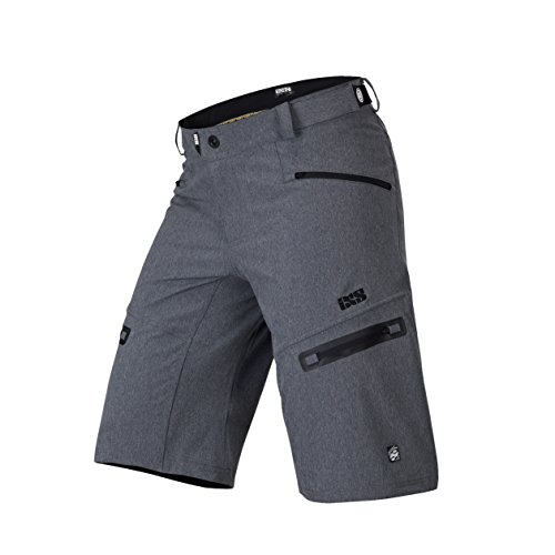 IXS Herren Sever 6.1 BC Shorts, Graphite, L