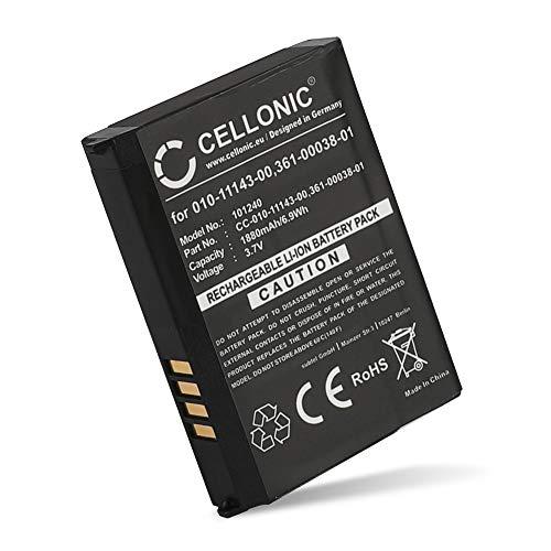 CELLONIC® GPS Ersatz Akku 010-11143-00 361-00038-01 kompatibel mit Garmin Zumo 660, 650, 600, 220 / Aera 560, 550, 510, 500 / SafeNav Navigationsgerät Ersatzakku 1880mAh Batterie
