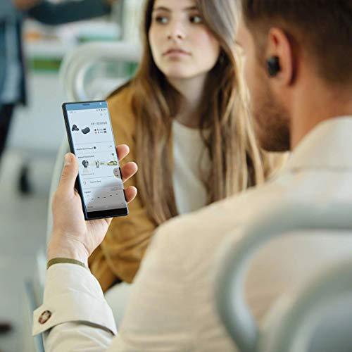 ソニーワイヤレスノイズキャンセリングイヤホンWF-1000XM3:完全ワイヤレス/AmazonAlexa搭載/Bluetooth/ハイレゾ相当最大6時間連続再生2019年モデル/マイク付き360RealityAudio認定モデルブラックWF-1000XM3BM