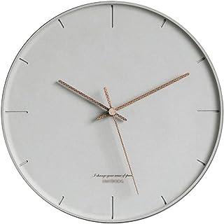 Ornaments Wall Clock غرفة المعيشة ساعة الحائط الحديثة ساعة 12 بوصة ساعة حائط صامتة صامتة غير تدق سهلة القراءة الرئيسية/مكت...