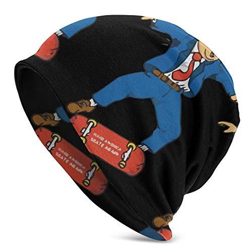 xiangshan Machen Sie Amerika Wieder Schlittschuh X D-Ump TRU-Mp Strickmütze für Erwachsene Männer Winter Fan Cap Balaclava Bla